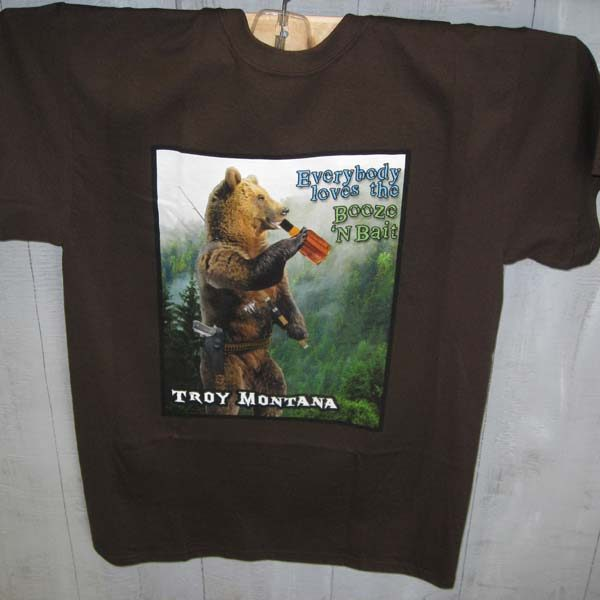 George T-shirt Brown
